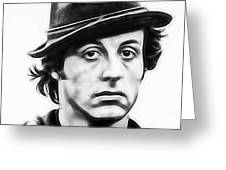 Sylvester Stallone Collection Greeting Card