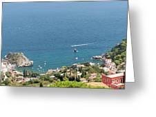 Taormina Vista Greeting Card