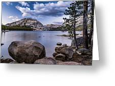 Tenaya Lake Greeting Card