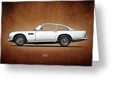 The Aston Martin Db5 Greeting Card