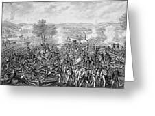 The Battle Of Gettysburg Greeting Card