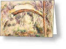 The Bridge Of Trois - Sautets Greeting Card