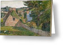 The Field Of Derout-lollichon Greeting Card