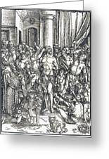The Flagellation Greeting Card
