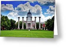 The Francis Quadrangle - University Of Missouri Greeting Card