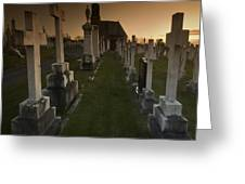 The Graveyard Greeting Card