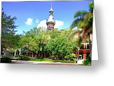The Henry B. Plant Museum Tampa Fl Greeting Card