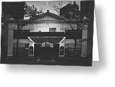 The Hilbert Circle Theatre Of Indianapolis Greeting Card