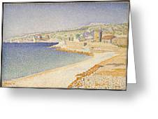 The Jetty At Cassis Opus 198 Greeting Card