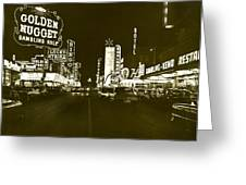 The Las Vegas Strip Greeting Card