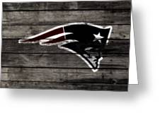 The New England Patriots 3a Greeting Card