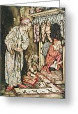 Cards christmas Arthur rackham