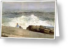 The Northeaster Greeting Card