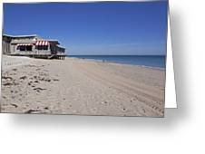 The Ocean Grill At Vero Beach In Florida Greeting Card