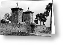 The Old City Gates Greeting Card