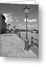 The Promenade At Barton Marina Greeting Card