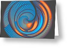 The Seventh Opinion Top View Greeting Card