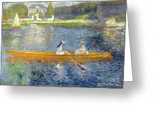The Skiff Greeting Card