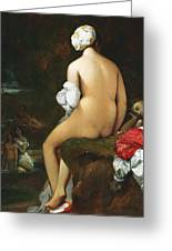 The Small Bather Greeting Card