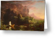 The Voyage Of Life - Childhood Greeting Card