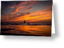 Tiscornia Beach - St. Joseph Greeting Card
