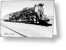 Train Engine #2732 Greeting Card
