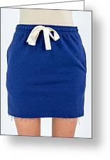 Trendy Fashion Skirt Greeting Card