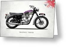 Triumph Trophy Greeting Card