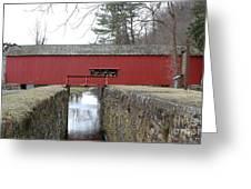 Uhlerstown Covered Bridge Greeting Card