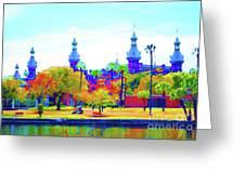 University Of Tampa Greeting Card