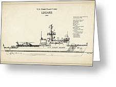 U.s. Coast Guard Cutter Legare Greeting Card