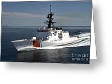 U.s. Coast Guard Cutter Waesche Greeting Card