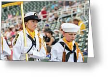 Us Naval Sea Cadet Corps - Gulf Eagle Division, Florida Greeting Card