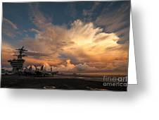 Uss Carl Vinson Greeting Card