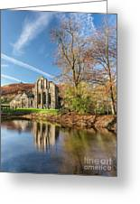 Valle Crucis Abbey  Greeting Card