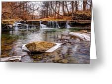 Walnut Creek Waterfall Greeting Card