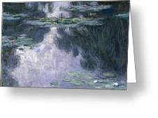 Water Lilies Nympheas Greeting Card