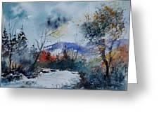 Watercolor  802120 Greeting Card