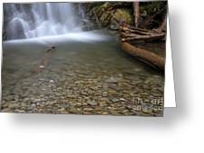Waterfall, Quebec Greeting Card