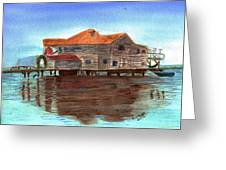 West End Roatan Greeting Card