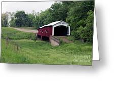 West Union Covered Bridge, Indiana Greeting Card