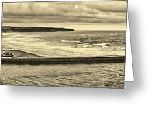 Whitby Harbor Greeting Card