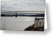 Williamstown Bridge  Greeting Card