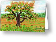 Willow Tree, Painting Greeting Card