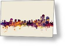 Wilmington Delaware Skyline Greeting Card