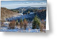 Winter Wonderland In Central Scotland Greeting Card