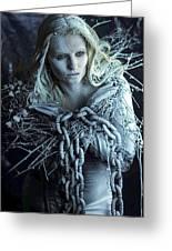 Winter's Sorrow Greeting Card