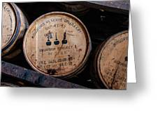 Woodford Reserve Barrels Greeting Card