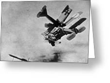 World War I: Aerial Combat Greeting Card