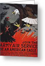 World War I: Air Service Greeting Card by Granger